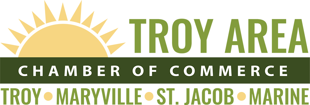 Troy Maryville St. Jacob Marine Chamber of Commerce Logo